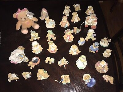 Lot of 30+ Enesco CHERISHED TEDDIES COLLECTIBLE FIGURINES TEDDY BEAR