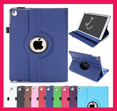 Case Cover For I pad 2/3/4 mini Air 1/2 Leather 360 Degree Rotating Smart Stand