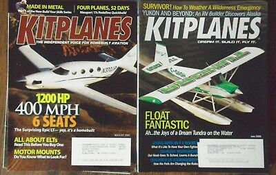 Mix Lot of 17 Kit Planes Magazines, Lots of Planes, Nice Lot, L@@K