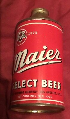 Very nice Maier Select Beer cone top