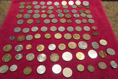Starter Set - Lot of 100 World Coins - Very Nice Coins - Not Searched