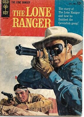 1958 Dell THE LONE RANGER #1 - 2nd Printing  NICE EARLY ISSUE READER - GOOD