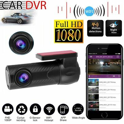 1080P Wifi Car Auto KFZ DVR Kamera Video Recorder Dash Cam G-Sensor Camera TT