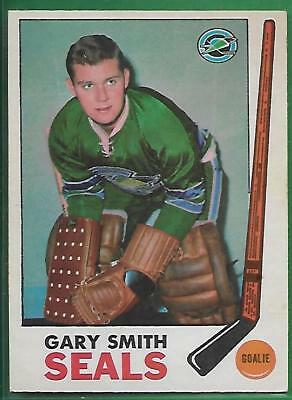 1969-70 Opc #78 **gary Smith** Rookie Great Condition(*oakland Seals*) Rc