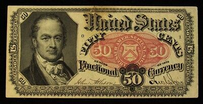 FR.1381 5th Issue (1874-1876) 50 Cents US Fractional Currency
