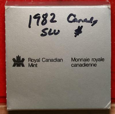 Uncirculated 1982 Silver Canada $1 Foreign Coin