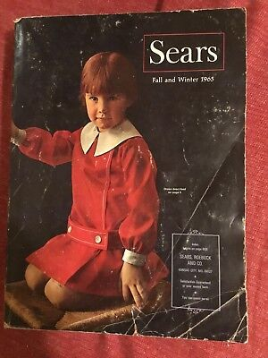Sears Catalog Fall And Winter 1965 1808 Pages Kansas City Area