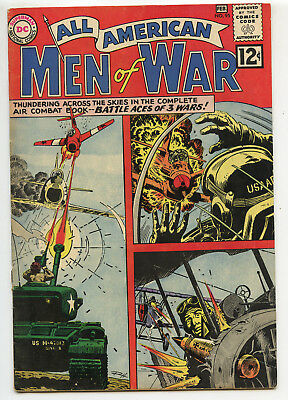 JERRY WEIST ESTATE: ALL AMERICAN MEN OF WAR #95 (DC 1963) VG condition NO RES