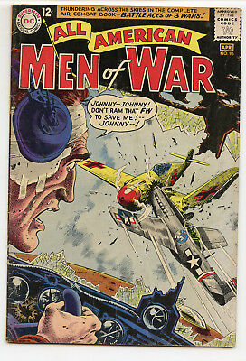 JERRY WEIST ESTATE: ALL AMERICAN MEN OF WAR #96 (DC 1963) VG condition NO RES