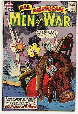 JERRY WEIST ESTATE: ALL AMERICAN MEN OF WAR #101 (DC 1964) FN condition NO RES