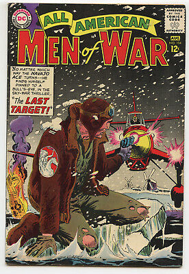 JERRY WEIST ESTATE: ALL AMERICAN MEN OF WAR #104 (DC 1964) FN condition NO RES
