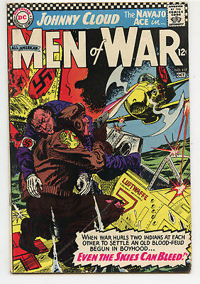 JERRY WEIST ESTATE: ALL AMERICAN MEN OF WAR #117 (DC 1966) FN condition NO RES