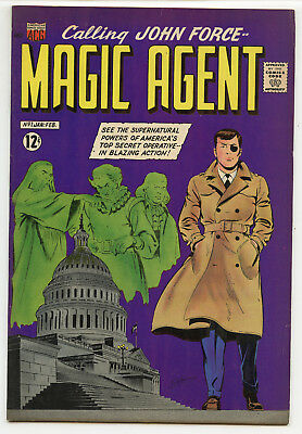 JERRY WEIST ESTATE: MAGIC AGENT #1 (ACG 1962) VF condition! NO RES!
