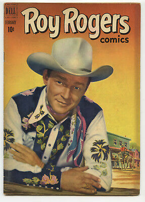 JERRY WEIST ESTATE: ROY ROGERS COMICS #50 (Dell 1952) FN condition NO RES