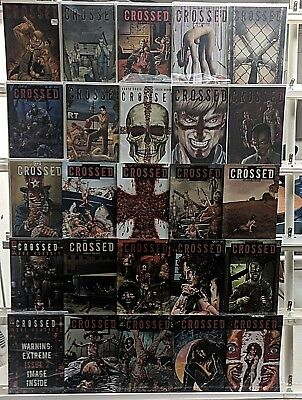 Crossed Badlands Comics Huge 25 Comic Book Collection Lot Set Run Books Box 1