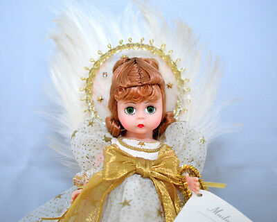 "Madame Alexander Heavenly Tree topper Angel 12"" doll #19610 1997 Vintage"