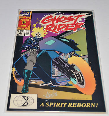 GHOST RIDER #1  Signed by STAN LEE Autographed