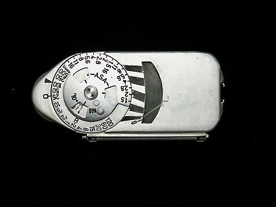 Vintage Leica-Meter Photographic Light Meter Working Condition