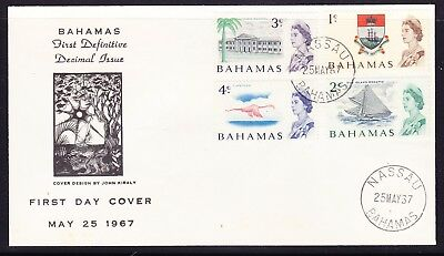 Bahamas 1967 Defintives  First Day Cover