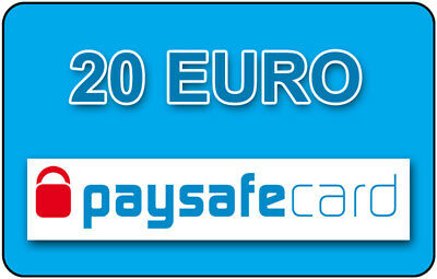 Paysafe Card  20 EURO - Sofortlieferung per Ebay-Mail