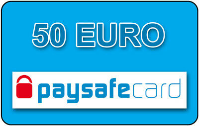 Paysafe Card  50 EURO - Sofortlieferung per Ebay-Mail