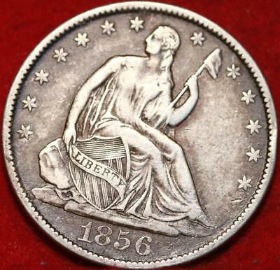 1856-O New Orleans Mint Silver Seated Half Dollar