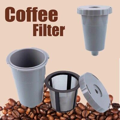 Reusable Coffee Filter Mesh Set Replacement Tool for Keurig K-cup Style Kit