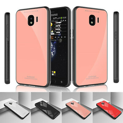 For Samsung Galaxy J4 J6 2018 Shockproof Case Tempered Glass Full Body Cover