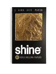 New Shine 24k Gold Papers 1 Sheet Pack King Size