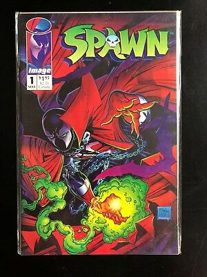 Spawn #1 Image Comics May 1992.  Newsstand Variant
