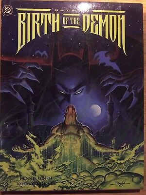 Batman Birth of the Demon Hardcover 1st Edition 1992