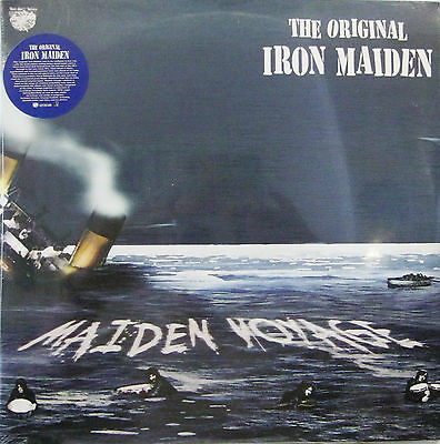 "IRON MAIDEN (THE ORIGINAL) ""MAIDEN VOYAGE"" 2 lp limited blue vinyl sealed"