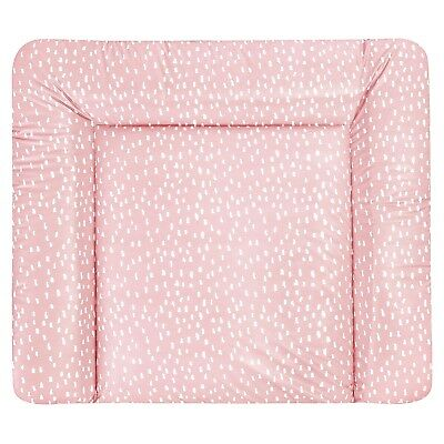 Julius Zöllner Wickelauflage Softy 75 x 85 Tiny Squares Blush  NEU