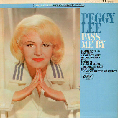 Peggy Lee - Pass Me By (Vinyl LP - 1965 - US - Original)