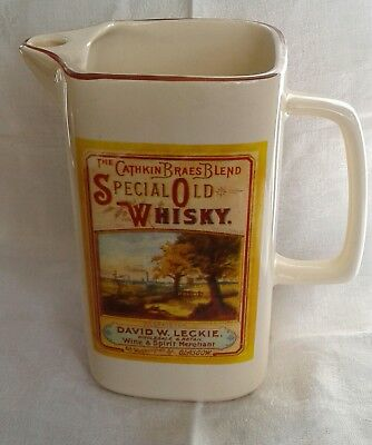 The Cathkin Braes Blend Special Old Whisky Water Jug