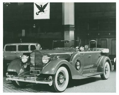 1934 Packard 12 Model 1107 Touring Car Automobile Photo ch5868