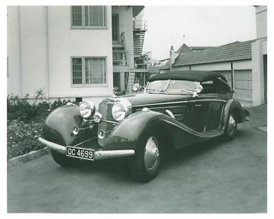 1938 Mercedes Benz Type 500 Special Body Automobile Factory Photo ch5936