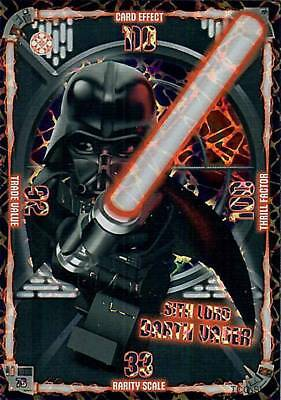LEGO Star Wars Trading Card Game limitierte Darth Vader Sith Lord XXL Card 76