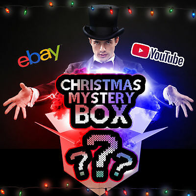 $7.99 Mysteries Box Christmas Greeting Brand New Toys Tools Cards or Electronics
