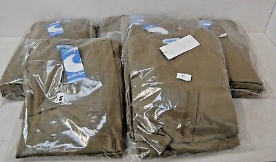 Job lot x 44 Men's Long Sleeved T-Shirts ALL Olive Green Mixed Sizes  - NEW