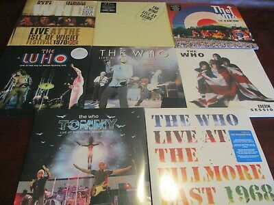 The Who Live @ Bbc Original 2000 Issue + Albert Hall +Isle Of Wight + Leeds + 68