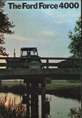 "Ford Force ""4000"" Tractor Brochure Leaflet"