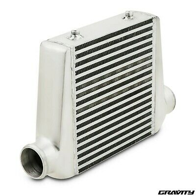 "3"" 76mm ALUMINIUM ALLOY CUSTOM DIY TURBO CONVERSION FRONT MOUNT INTERCOOLER FMIC"