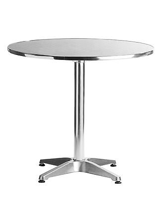 "Aluminum Tables 31.5"" Round Restaurant Table Commercial Modern Bar"