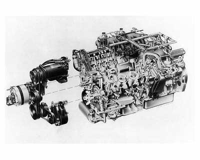 1971 Jaguar V12 Engine Factory Photo ub1180-1FE4FE