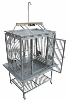 KINGS CAGES LARGE ALUMINIUM PARROT CAGE ACP 3325 bird toy toys cage