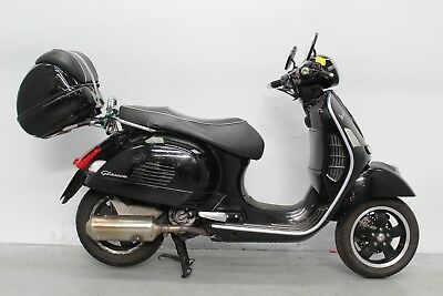 2008 Piaggio Vespa Gts300 Super Damaged Spares Or Repair ***no Reserve*** (16784