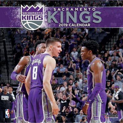 2019 Sacramento Kings Wall Calendar, Basketball by Turner Licensing