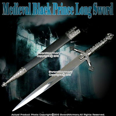 """14"""" Medieval Knight Scottish Claymore Short Sword Historical Dagger with Sheath"""