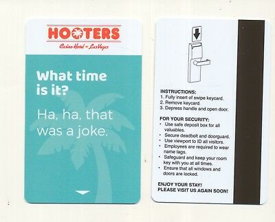 "new from----HOOTERS--""Casino Hotel""--Las Vegas,NV---Room key"